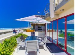 Ocean Front 3BD/3BA Mission Beach Rental: Decked Out II