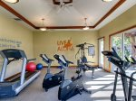Golf Villa exercise facility, just steps away from the villa