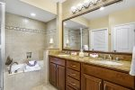 Two sink vanity, Master Bathroom