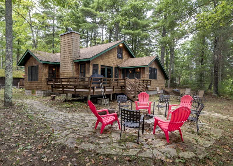 vacation home rental manitowish waters rest lake beach house rh northwoodshomerentals com