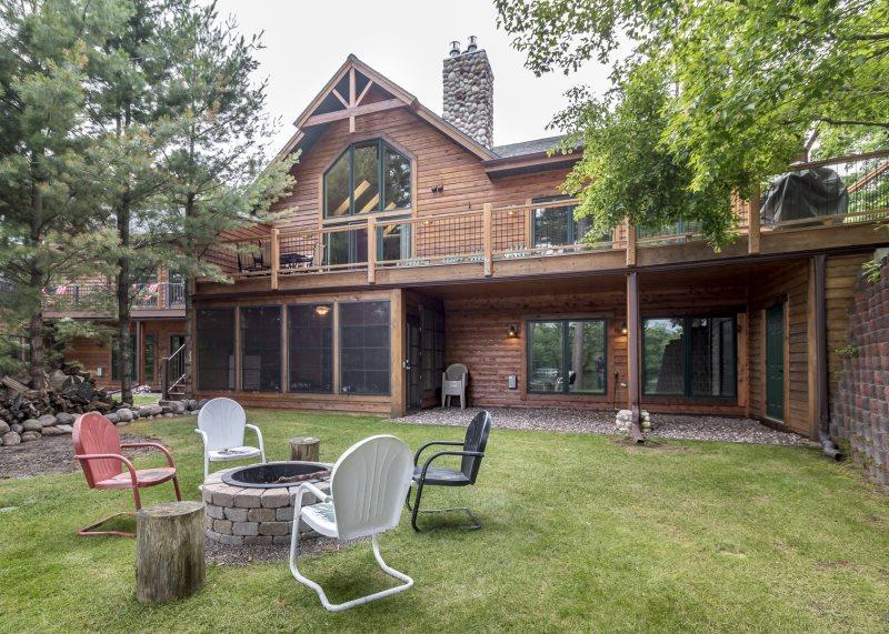 manitowish waters spider lake vacation home rental lake front luxury rh northwoodshomerentals com