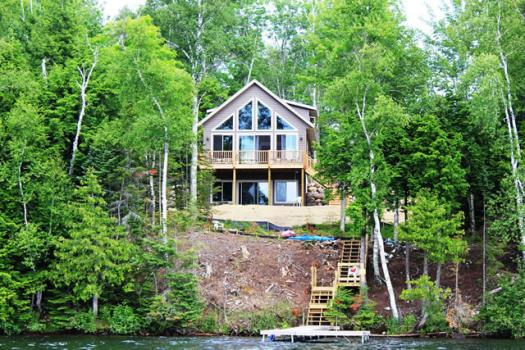 Northwoods home and cabin vacation rentals northwoods for Northwoods wisconsin cabin rentals
