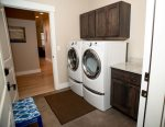 Mud Room, Washer and Dryer