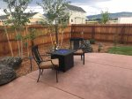 Patio, Gas Firepit