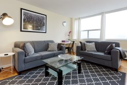 Oversize 1 Bed, 1 Bath Suite located at Yonge & Eglinton.