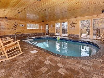 BEAUTIFUL INDOOR SWIMMING POOL CABIN! SLEEPS 12! KIDS LOFT! 7 MILES FROM  PIGEON FORGE AND GATLINBURG!