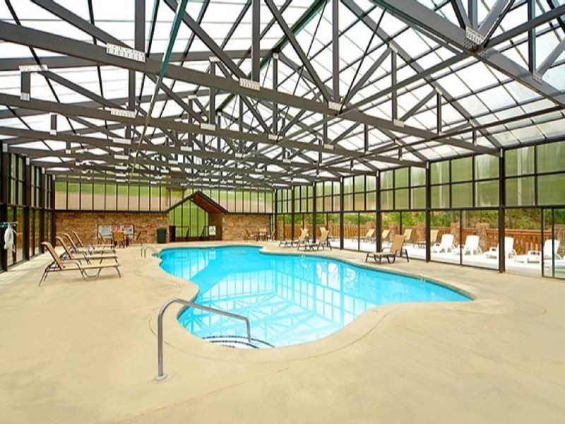 people rentals viewing gatlinburg a cabin this pool chalets indoor are with private now cabins in pools