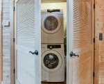 Stackable, High Efficiency Washer and Dryer