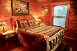 Second Bedroom with Queen Sized Bed with Private Access to Deck