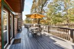 Large Deck with Grill and Hot Tub