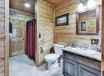 Private Bathroom with Shower on Lower Level