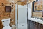 Downstairs Bathroom with Stand-up Shower on Lower Level