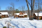 Winter Time at Twin Pines Cabin