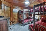 Twin Sized Beds in the Bunk House