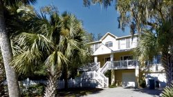 1 Nighthawk - Steps to the Beach - Low country Style Home with FREE heated pool & built in hot tub