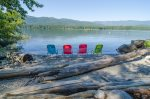 Your private beach on the South shore of Lake Wenatchee