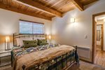 The loft area has two comfortable beds to enjoy.