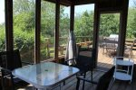 Screened in Porch Area for morning coffee or sunsets beverages
