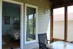 Screened in Porch off the Master