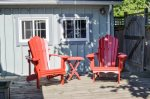 Nothing says relax like an Adirondack chair