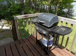 Grill up a feast using the bbq with complimentary propane