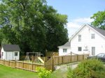Fenced in yard great for young families