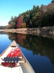 Or enjoy a fall paddle amidst gorgeous foliage