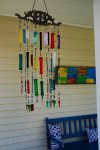 Welcoming wind chimes