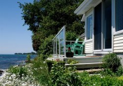 Stunning water views from this quaint cottage near Drake