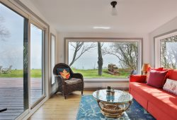 Private Wellington waterfront with fireplace and firepit in the heart of Prince Edward County