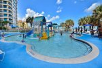 Kids splash area will entertain the little ones for hours