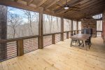 Screened in Porch off of Main Level