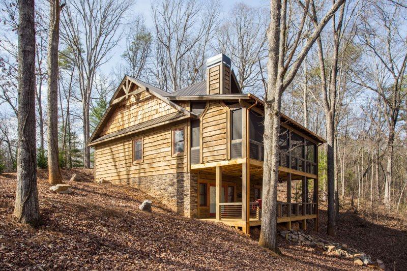 Brand new Craftsman style unique home in Blue Ridge, GA