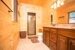 Master Bath on Mail Level