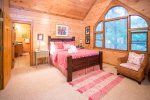 Upper Level Master Queen Bedroom