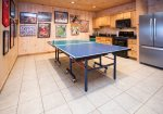 Terrace Level Kitchen w/ Ping Pong Table