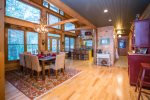 Open floor plan: Kitchen/ Dining/ Family room