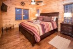 Upper Level King Master Bedroom