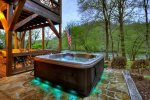 Hot Tub beside the River