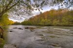 The beautiful Toccoa River