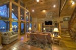 Gorgeous Rustic Family Room