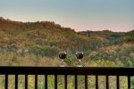 Enjoy the view with a glass of wine at Sunrise Splendor