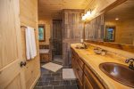 Entry Level: attached Master bath to King Master Room