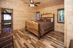 Upper Level Queen Bedroom w/ attached shared Bath
