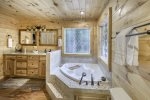 Master Bath on Entry Level