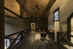 Upper level loft perfect for relaxing and reading a good book