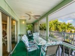 1335 Santos Fort Myers Beach Accommodations Florida FL Near Beach Vacation Rental Home Waterfront Condo with Screened Lanai 1-877-BEACH-IT