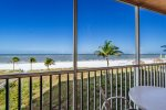 Estero Island Beach Villas 202 Fort Myers Beach Accommodations Florida FL Beachfront Condo Vacation Rental with Heated Pool BBQ Grills Screened Lanai 1-877-BEACH-IT