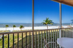 Beach Villas #202 | Hear the Waves Lapping Outside Your Door! Luxurious North Island Oceanfront Condo