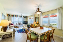 Beach Villas #506 | Rare Double Balcony End Unit Near Times Square! Right on the Beach